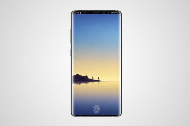В сети интернет уже начали появляться слухи о Samsung Galaxy Note 9
