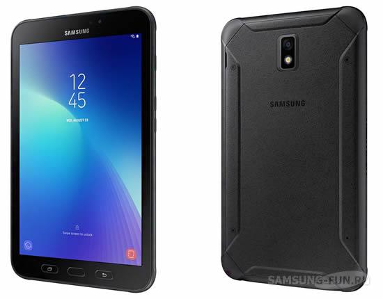 Защищенный планшет Samsung  Galaxy Tab Active 2 представлен официально