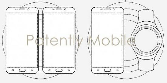 Samsung патентует беспроводную зарядку для нескольких устройств
