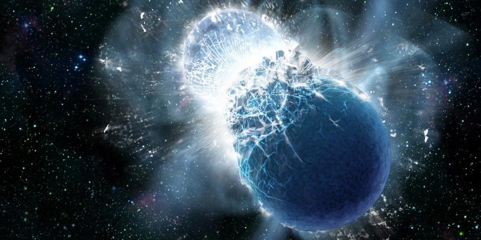 Астрономы впервые «увидели», как звезды выбрасывают золото и платину