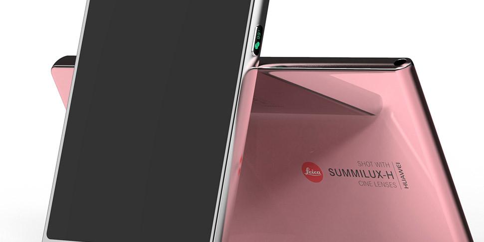 Дизайнер показал концепт смартфона P11 с выделенным индикатором батареи