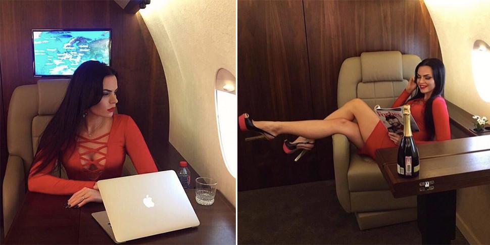 В Москве предлагают фотосессию для Instagram в «личном» самолете, чтобы все было как у богачей
