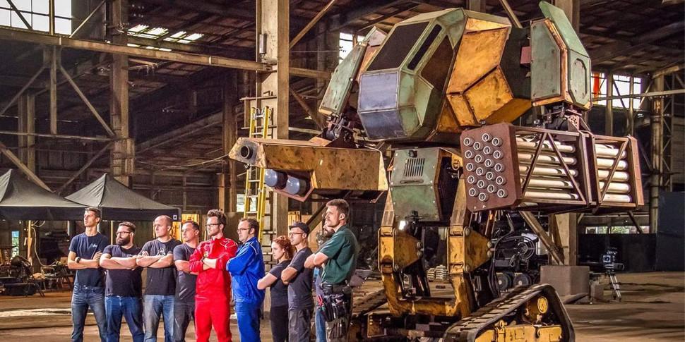 17 октября Twitch покажет драку гигантских боевых роботов из США и Японии