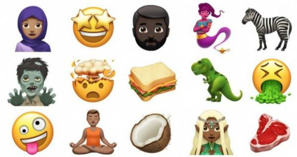 В iOS 11.1 появятся новые эмодзи
