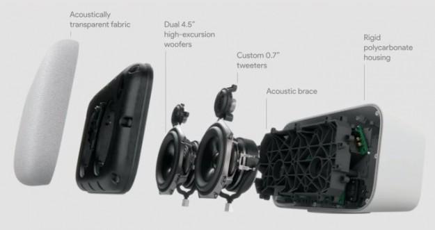 Умная акустическая система Google Home Max оценена в 400 долларов