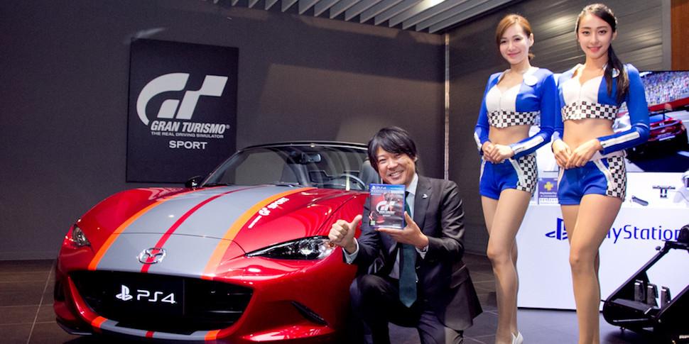 Продан бандл Gran Turismo Sport с родстером Mazda за $46 600