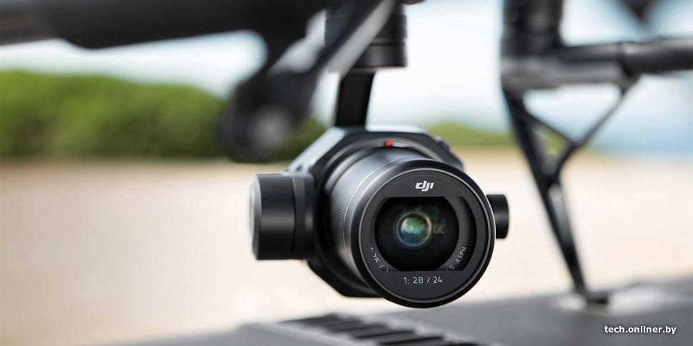 DJI представила 6K дрон-фотовидеокамеру с карбоновыми сменными объективами