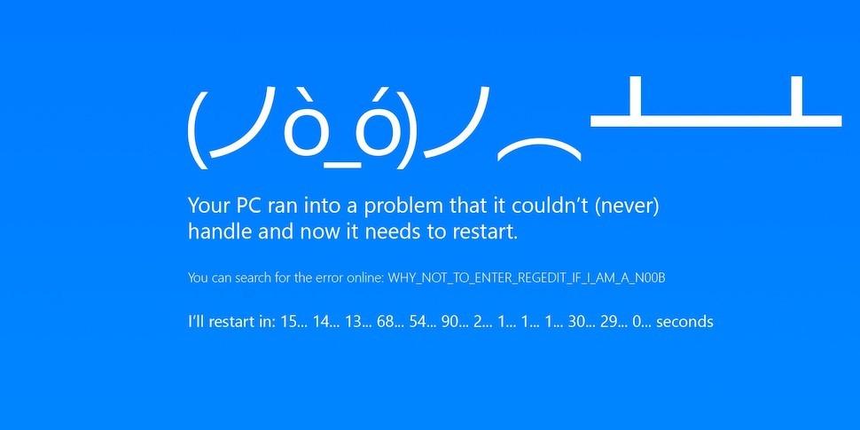 Windows 10 ушла в бесконечный экран смерти из-за последнего обновления