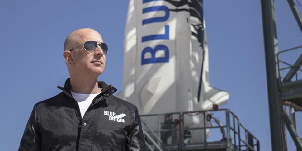 Blue Origin показала огневые испытания двигателя для конкурента Falcon Heavy