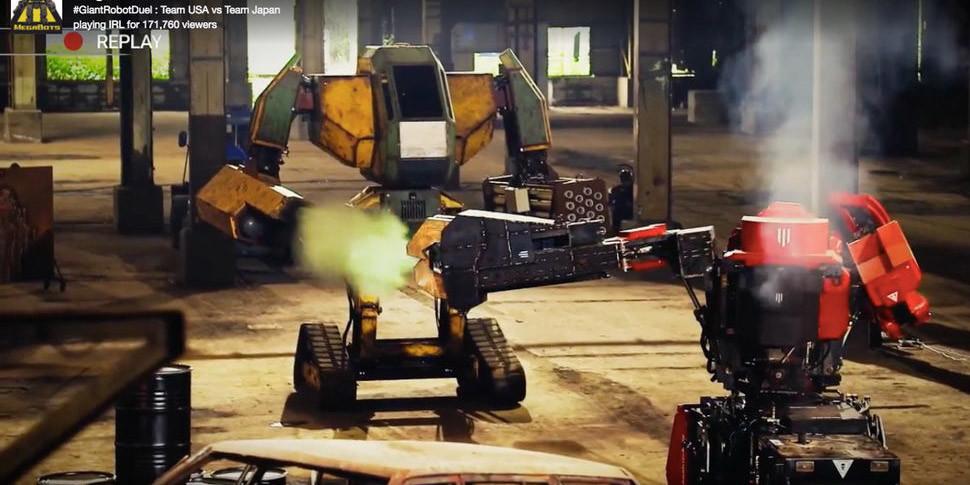 В битве гигантских роботов американский Eagle Prime одолел японского Kuratas
