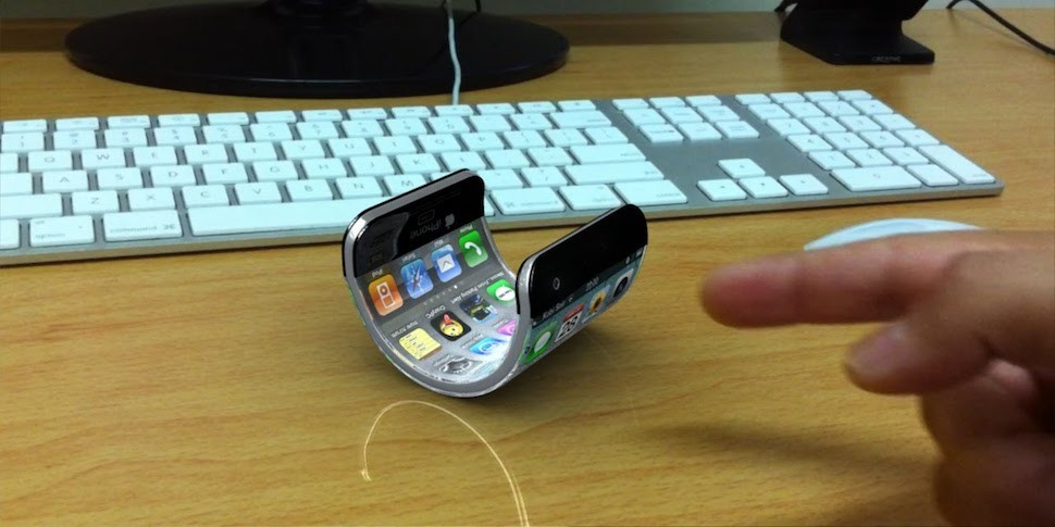 Apple работает над гибким iPhone
