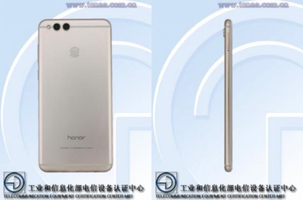 Huawei Honor 7X с двойной камерой замечен в TENAA