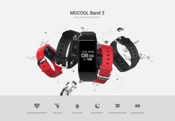 Стильный фитнес-браслет MGCool Band 3 обзавелся привлекательной ценой