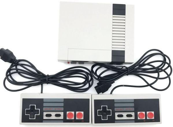 NES Game Machine Mini – игровая приставка с 500 классическими играми внутри от TomTop