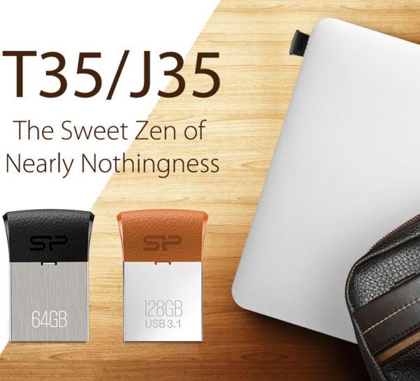 Silicon Power Jewel J35 и Touch T35 – компактные и вместительные флешки