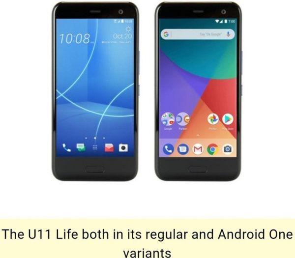 Смартфон HTC U11 Life: раскрыты аппаратные и программные возможности
