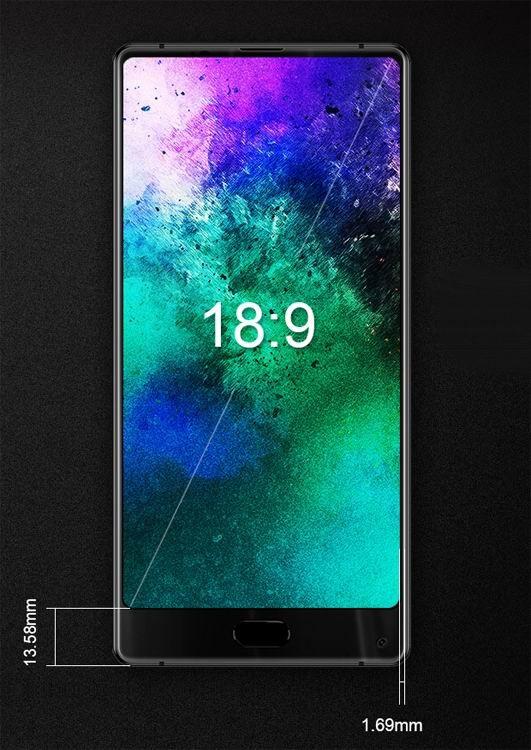 Maze Alpha X – флагманский смартфон без рамок из Китая