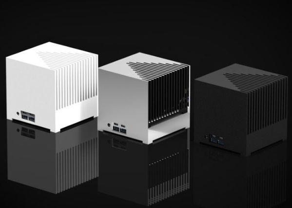Компьютер Kubb Passive Edition в форме куба работает совершенно бесшумно