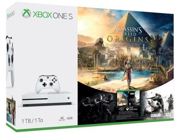 Приставка Xbox One S с Assassin's Creed: Истоки выйдет через три недели