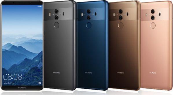 Смартфон Huawei Mate 10 Pro показали официально