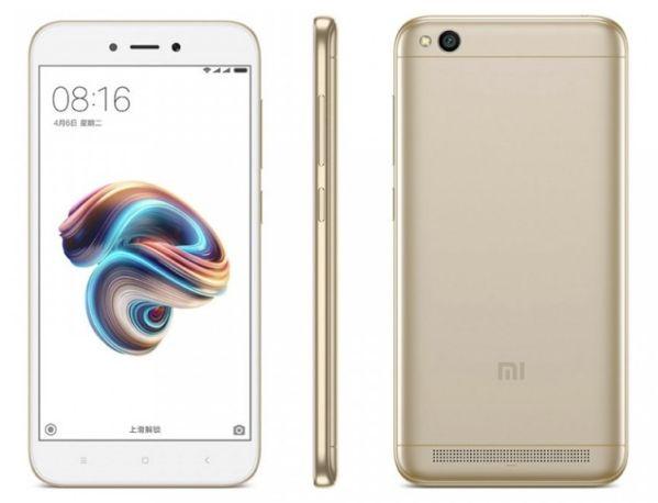 Смартфон Xiaomi Redmi 5A стоит менее $100