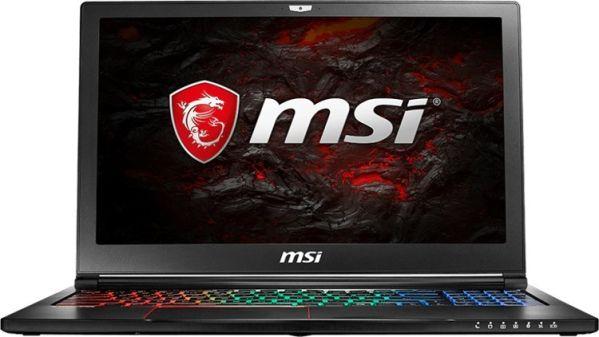 Игровой лэптоп MSI GS63 7RD Stealth получи видеокарту начального уровня