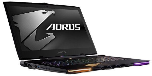 В ноутбук Gigabyte Aorus X9 поместили две видеокарты GTX 1070