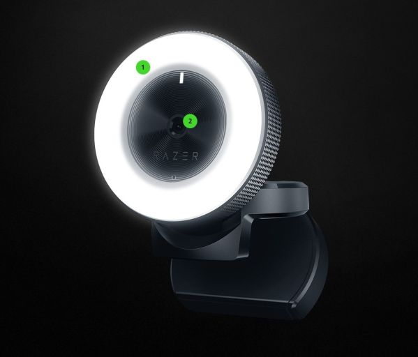Razer Kiyo – веб-камера с подсветкой для стримеров