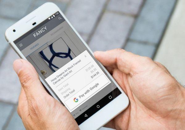 Запущен новый платежный сервис Pay with Google