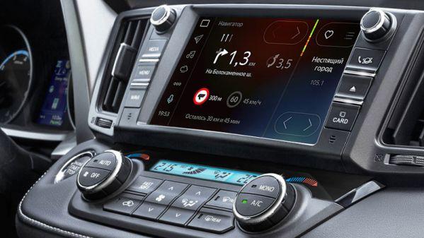 Toyota выпустила первые машины с приложением Яндекс.Авто