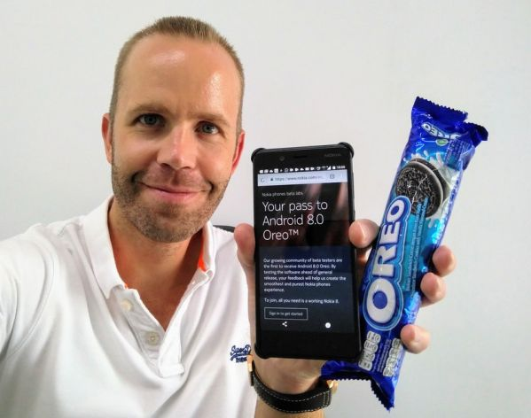 Смартфон Nokia 8 переехал на Android 8