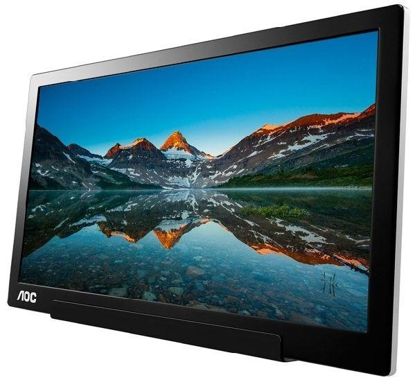 Монитор AOC I1601FWUX подключается по USB-C