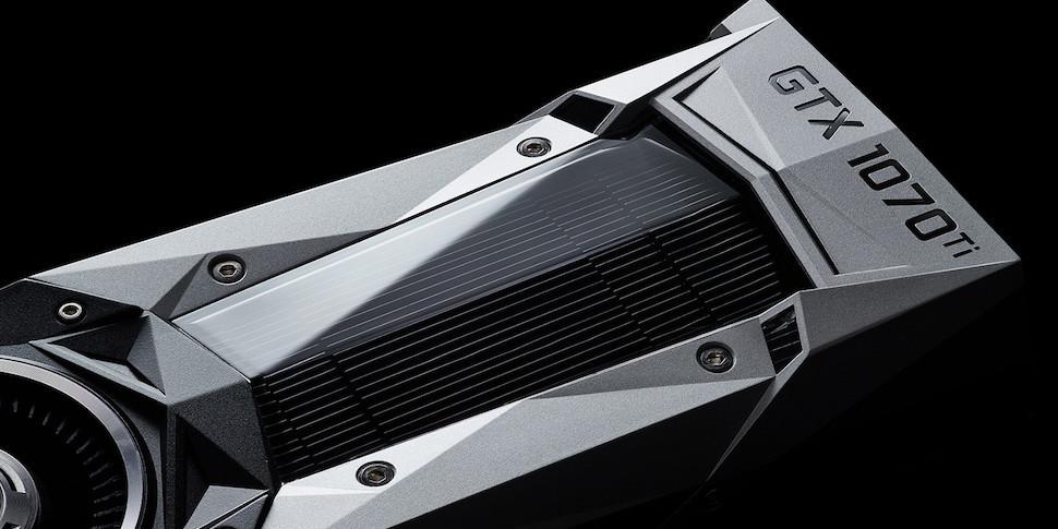 NVIDIA представила видеокарту GTX 1070 Ti за $450