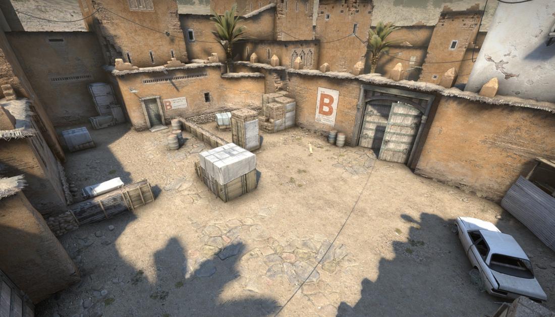 Разработчики показали обновление культовой карты de_dust2 для Counter-Strike