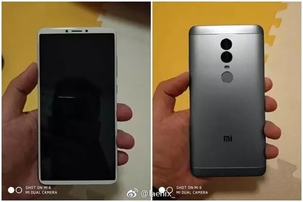 В сеть утекли фотографии нового смартфона Xiaomi в духе iPhone X