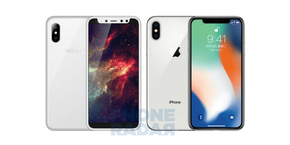 Китайцы выпустили клон iPhone X на Android за $80 с четырьмя камерами