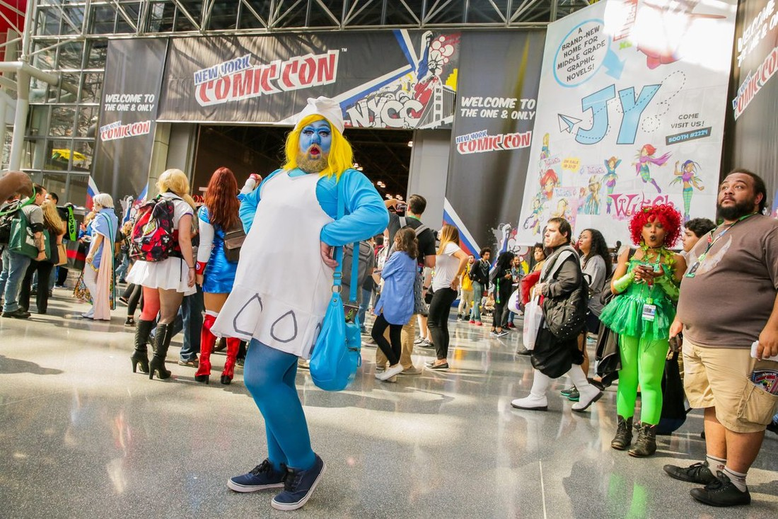 Фотофакт: косплееры фестиваля New York Comic Con