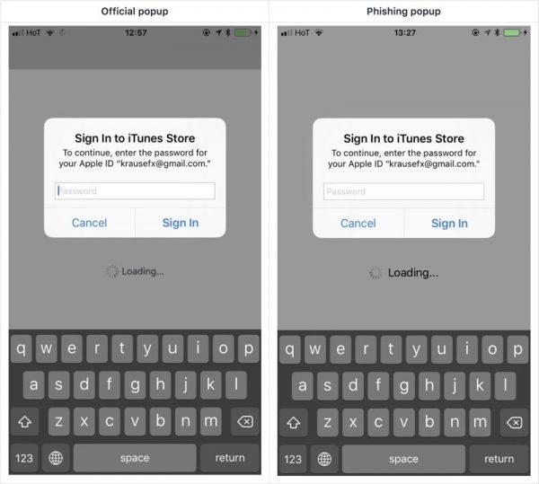 Apple ID все-таки можно украсть?