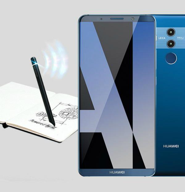 Huawei Mate 10 Pro: современный дизайн на рендерах