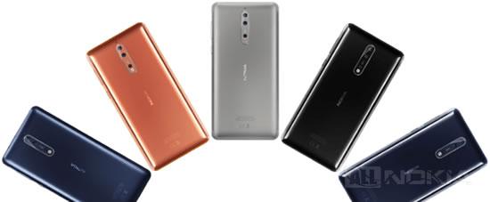 Скоро анонсируют Nokia 8 в черном цвете