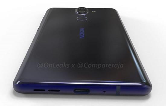 Nokia 9 показан на рендерах со всех сторон