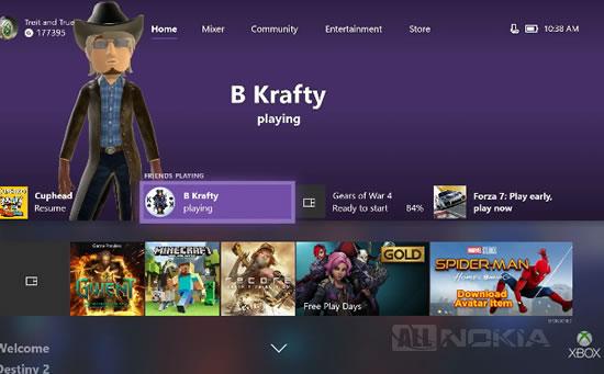 Владельцы Xbox One получают обновление Fall Update