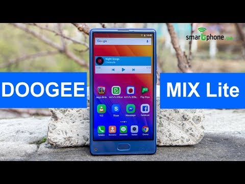 Видеообзор безрамочного смартфона Doogee Mix Lite от портала Smartphone.ua!