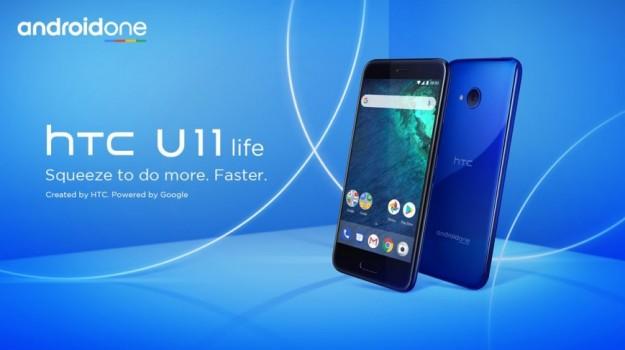 HTC представила сжимаемый U11 Life среднего уровня