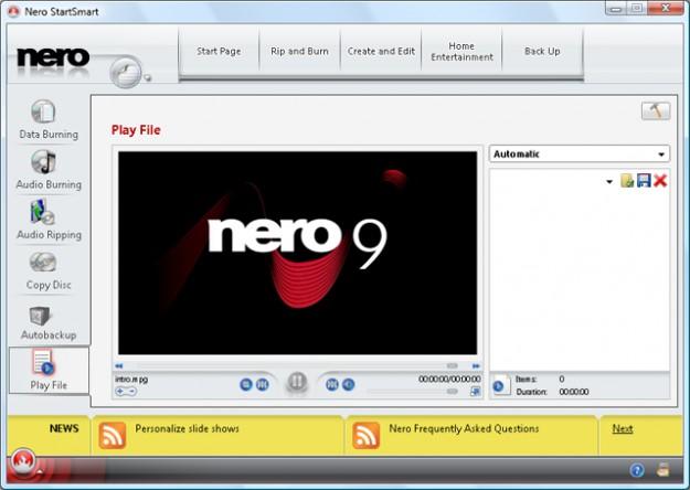 Программы для Windows: Обзор Nero и ее нескольких последних версий