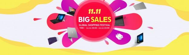 CHUWI 11.11 — устройства компании на фестивале скидок по лучшим ценам