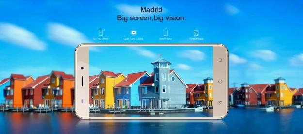 AllCall Madrid – изогнутый с 4-х сторон экран на 5.5 дюймов: Большой экран, Большое возможности!