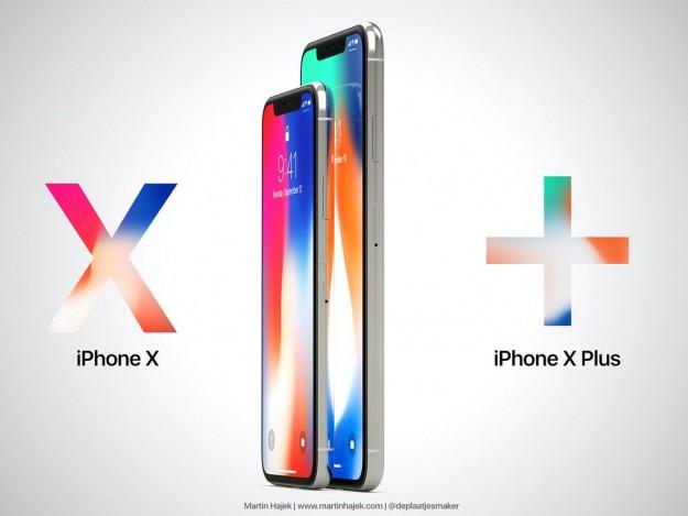 iPhone X Plus – первые фото и новые данные о характеристиках
