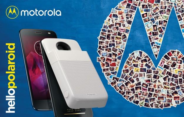 Motorola представила Polaroid Insta-Share Printer moto mod для смартфонов Moto Z