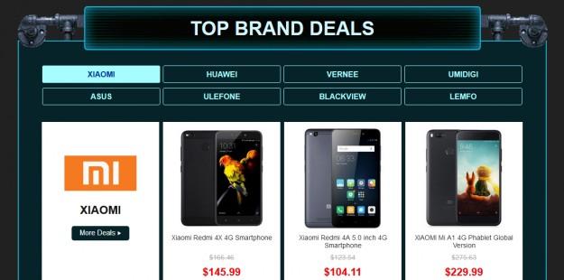 Скидки на смартфоны в Gearbest до 50% в преддверии Черной Пятницы